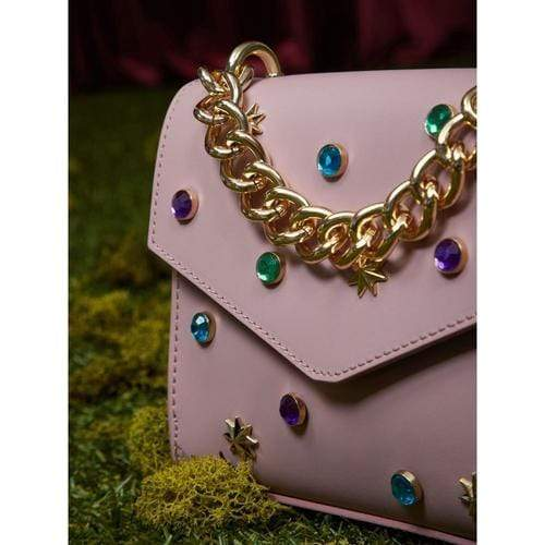 'Jeweled Hills' Colis Bag in Pink