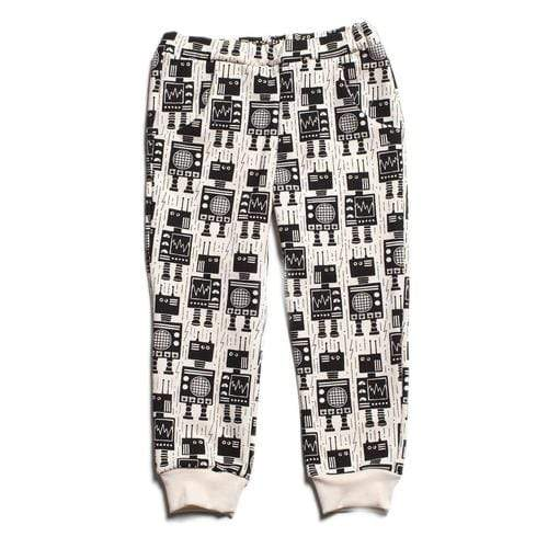 Sweatpants In Robots Black
