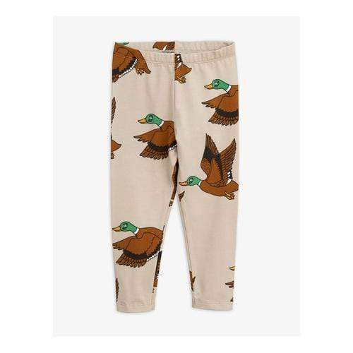 'Wild Duck' Legging Pants in Beige
