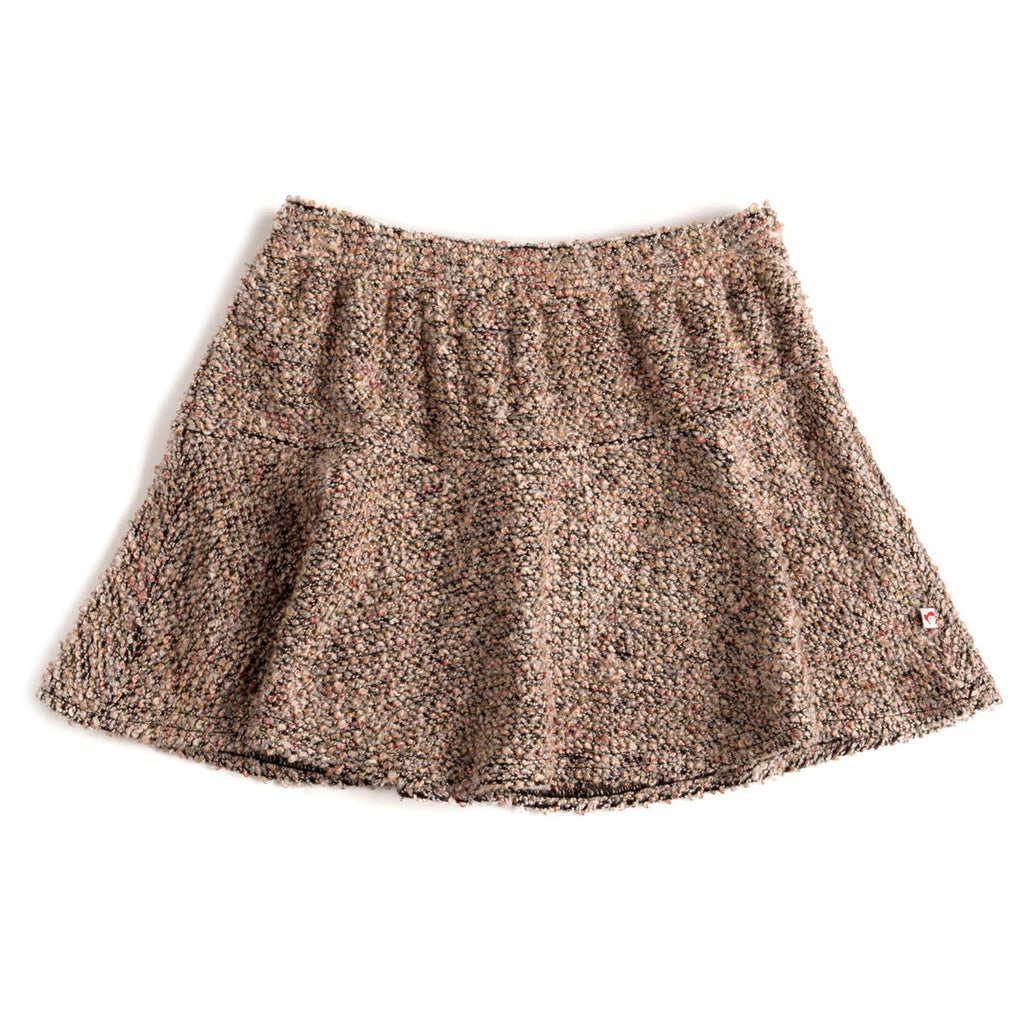 'Nicole' Knit Skirt in Rose Tan