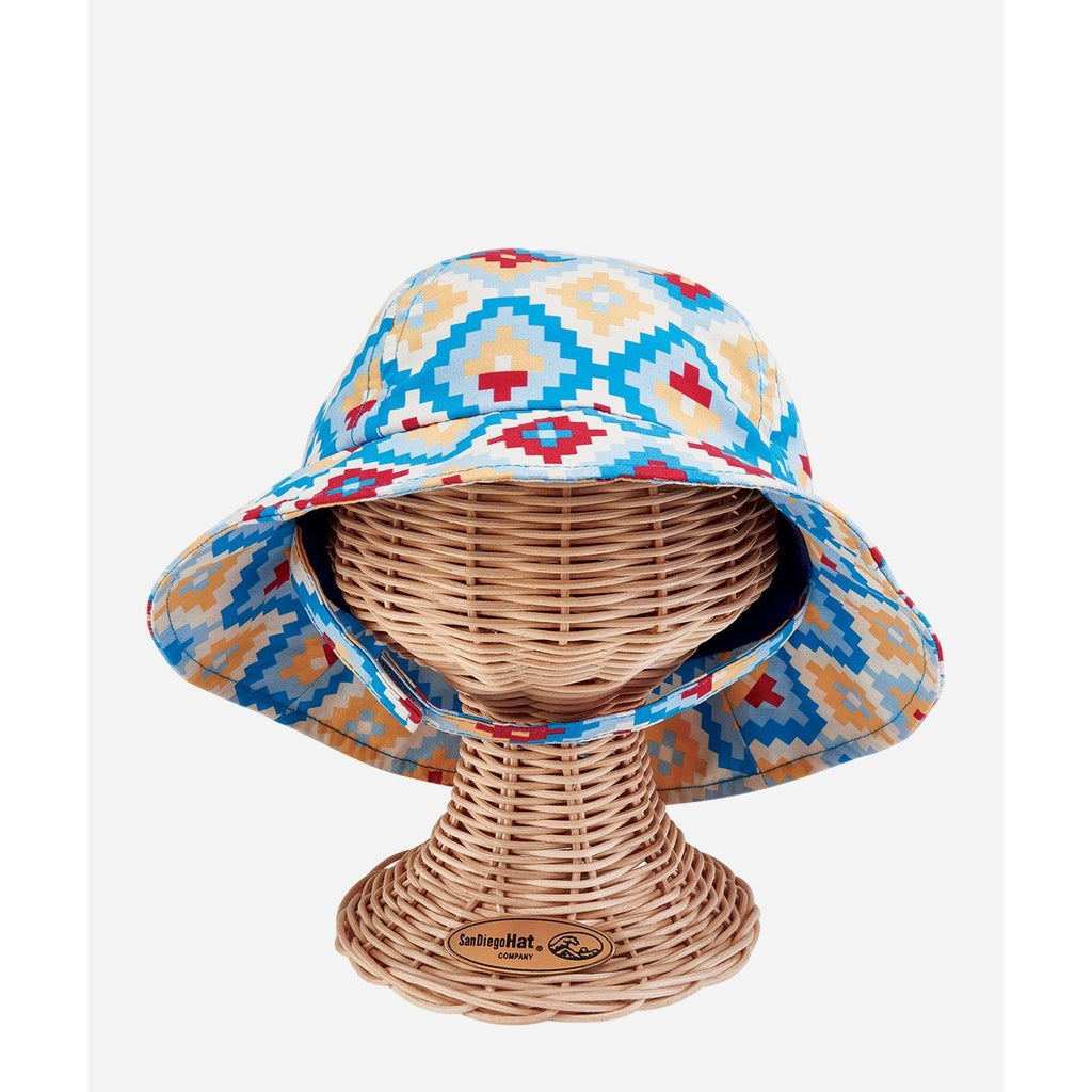 4 Panel Baby Sun Hat in Blue