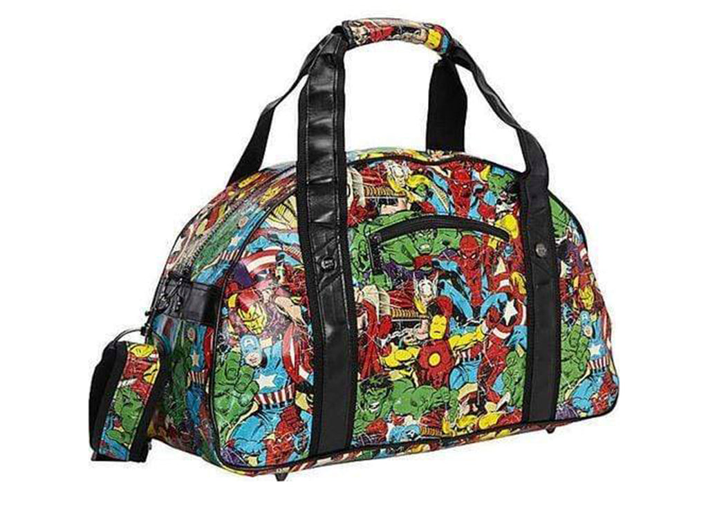 Marvel Comic Multi Character Gym Bag