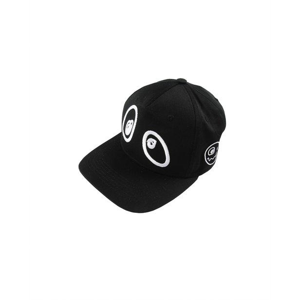 'Eyes' Baseball Cap Hat in Black