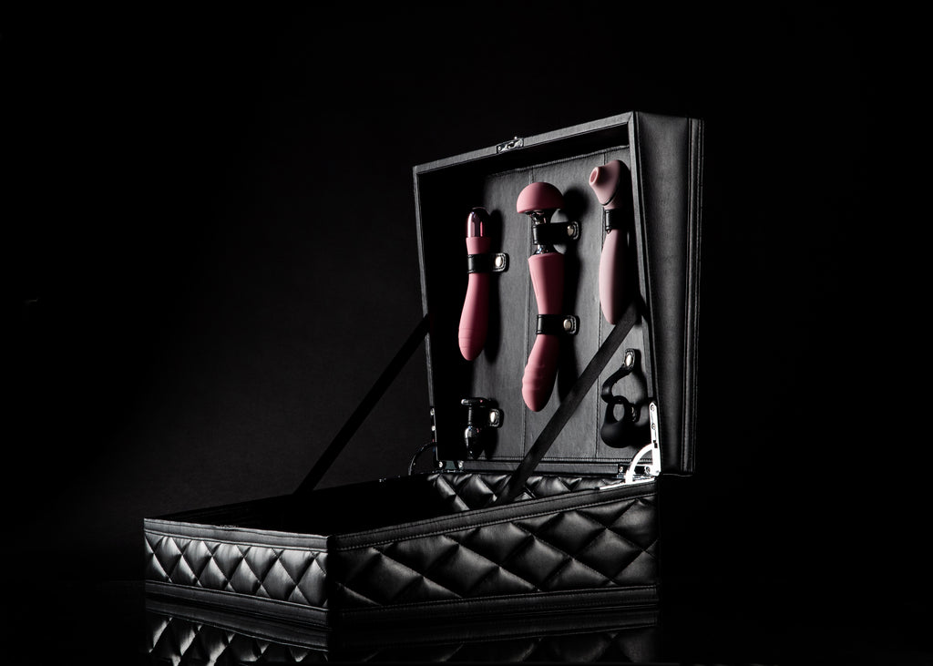 sex toy kit-Sex toy collection- Best sex toy kit 2020-Sex Toy Storage-Sex toys for couples-Vibrators- Massagers-BDSM-Kit-Luxury storage for sex toys- organized storage for sex toys
