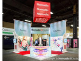 20' x 20' Custom VersaWall Product Exhibit 2