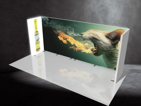 Zilla FIRE. 20' Backlit Display, Kit D