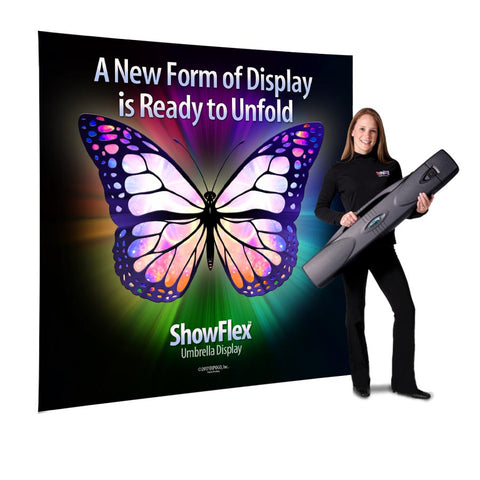 ShowFlex PopUp Umbrella Display