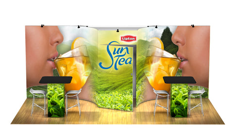 Panoramic Design 10ft x 20ft F Curved