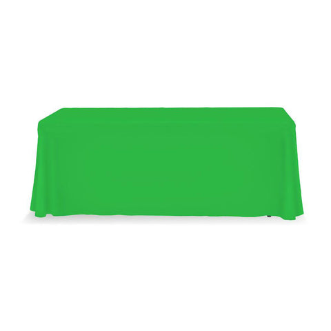 Table Throw Stock 6 Ft. 3-Sided (No Print)