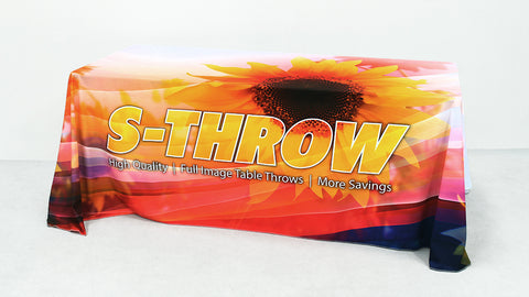 S-THROW 8ft Table Throw