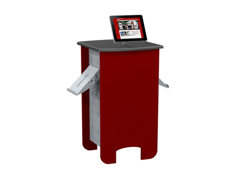 "40"" Interactive Steel Sided Counter"