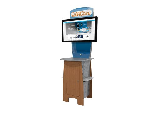 "86"" DesignLine AV Kiosk Display"