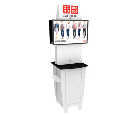 "85"" AV DesignLine Kiosk Display"