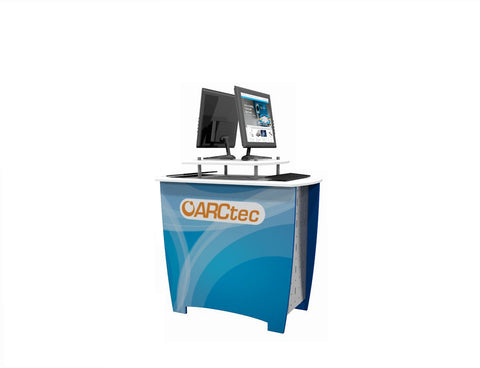 "52"" Kiosk AV DesignLine Workstation"