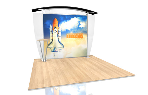 10 Ft Triton Alumalite V2 Arch Display Kit