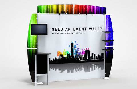 10 Foot Alumalite Zero Trade Show Exhibit Booth Display 6