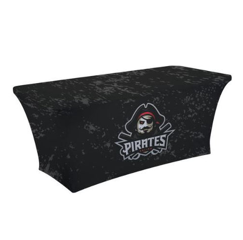6' UltraFit Curve Table Throw (Full-Color Dye Sublimation, Full Bleed)