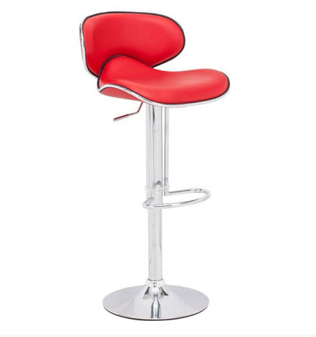 Bella Bar Chair Red