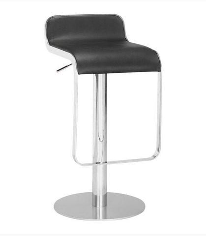 Zilla Bar Stool Black