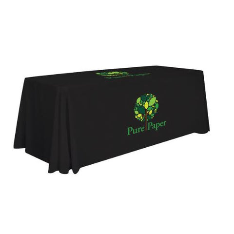 6' Standard Table Throw (Full-Color Imprint, Two Locations)