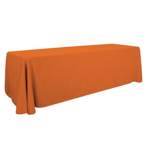 8' Table Throw 3-Sided (Unimprinted)