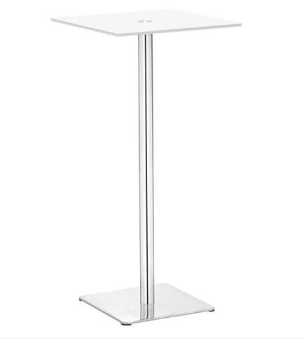 Handshake Bar Table White