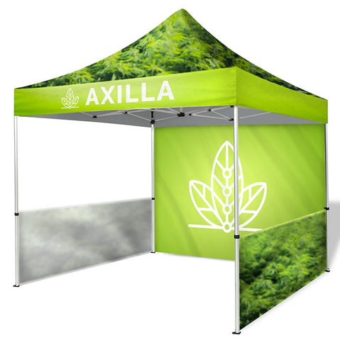 10ft Dye-Sublimation Tent Package with Walls