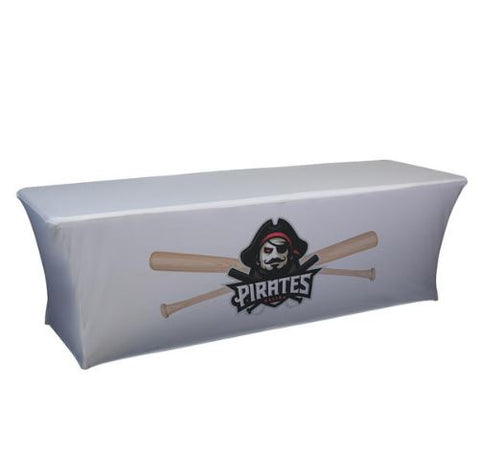 8' UltraFit Table Cover - Full-Color Front