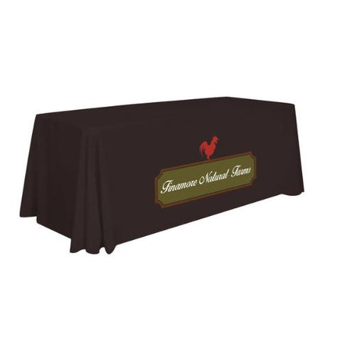 6' Standard Table Throw (Full-Color Imprint, One Location)
