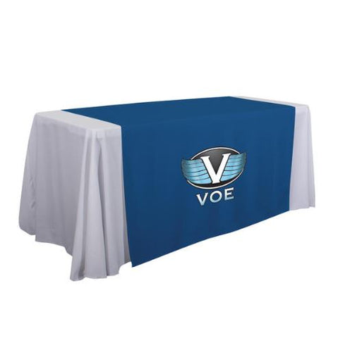 "57"" Standard Table Runner (Full-Color Imprint, One Location)"