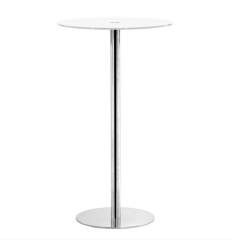 Pub Bar Table - White
