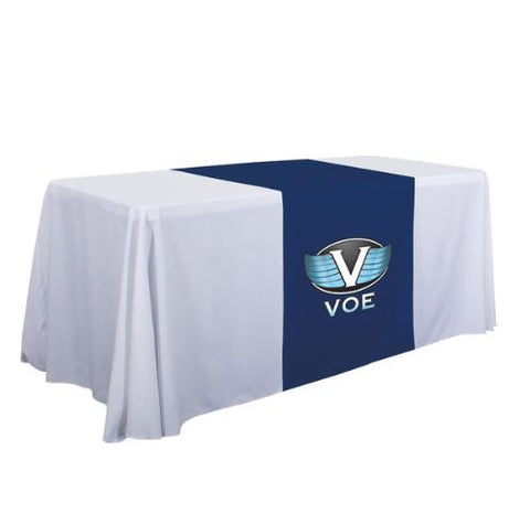 "28"" Standard Table Runner (Full-Color Imprint, One Location)"