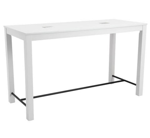Ogle Bar Table White