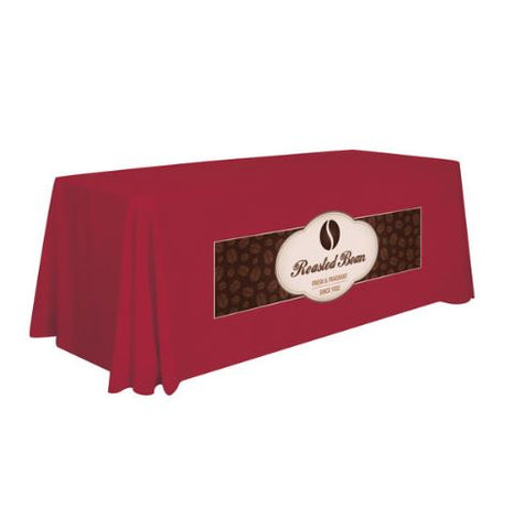 6' Stain-Resistant Table Cover - Full-Color Front