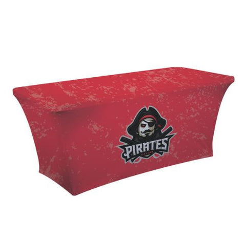 6' UltraFit Classic Table Throw (Full-Color Dye Sublimation, Full Bleed)