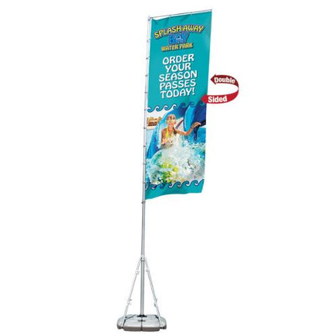Giant Outdoor Flag Kit – Double-Sided