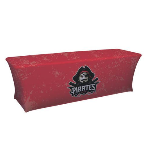 8' UltraFit Classic Table Throw (Full-Color Dye Sublimation, Full Bleed)