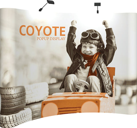 Coyote PopUp - 10ft Curved Graphic Kit