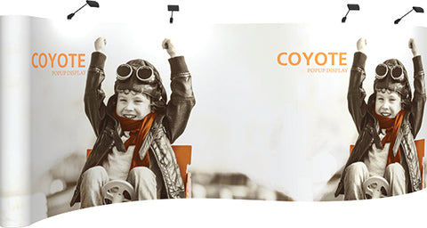 Coyote PopUp - 20ft Serpentine Graphic Kit