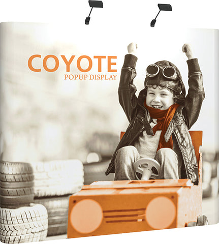 Coyote PopUp - 8ft Straight Graphic Kit