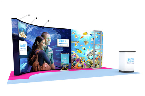20' Instand Custom Portable Display