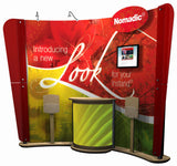 10' Curved Instand Foundation Display