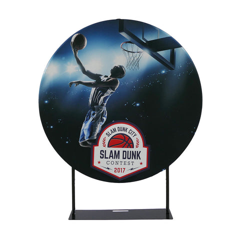 EZ Extend - Double-Sided Fabric Display - 5' Circle