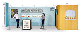 Expolinc 20' Straight Pop Up Display Kit