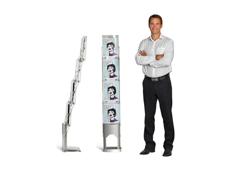 Expolinc 4-Pocket Brochure Stand