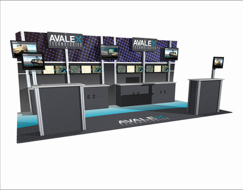 20' Modular DesignLine Inline Display 6