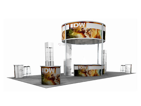 40' Custom Modular DesignLine Exhibit