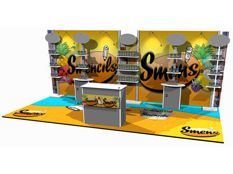20' DesignLine Inline Modular Display 4