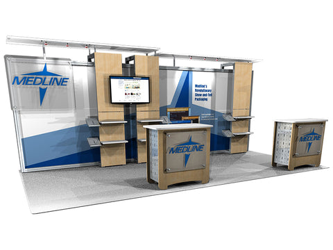 20' Modular DesignLIne Inline Display 2