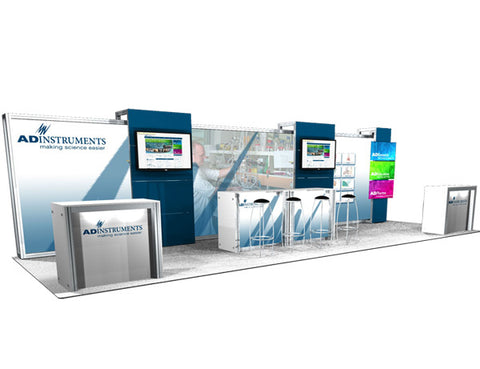 30' Scalable DesignLine Inline Display